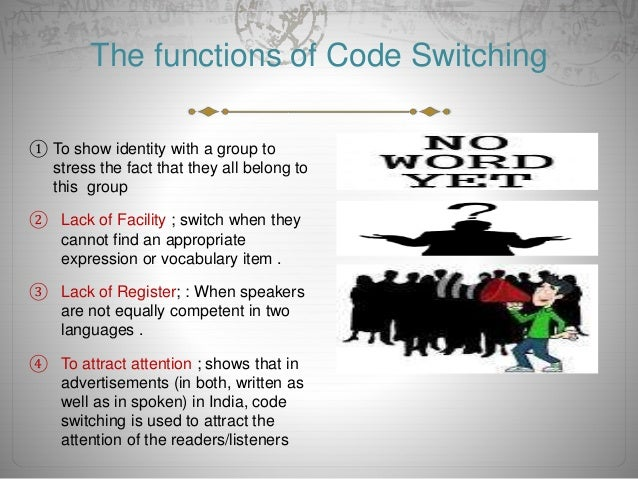 code switching Predicting code-switching in multilingual communication for immigrant  communities evangelos e papalexakis carnegie mellon university pittsburgh,  usa.