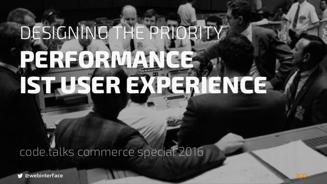@webinterface DESIGNING THE PRIORITY PERFORMANCE 