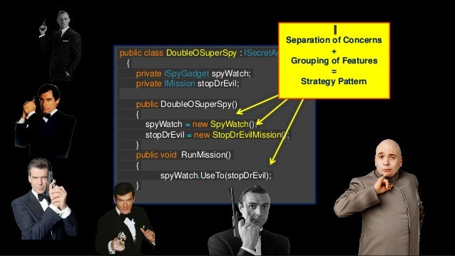 public class DoubleOSuperSpy : ISecretAgent { private ISpyGadget gadget; private ISecretMission mission; private DoubleOSu...