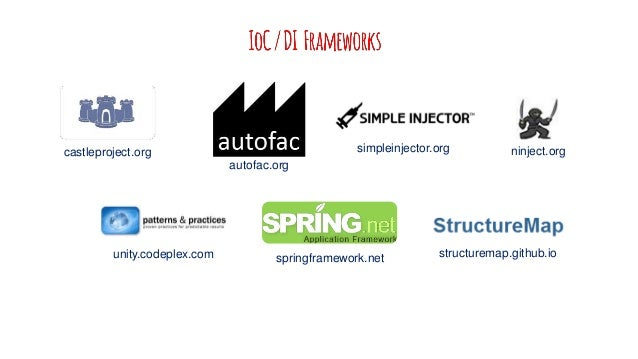 "springframework.net ""Spring Framework"" is THE way to do JAVA development Spring .NET is the .NET equivalent Nice bridge fo..."