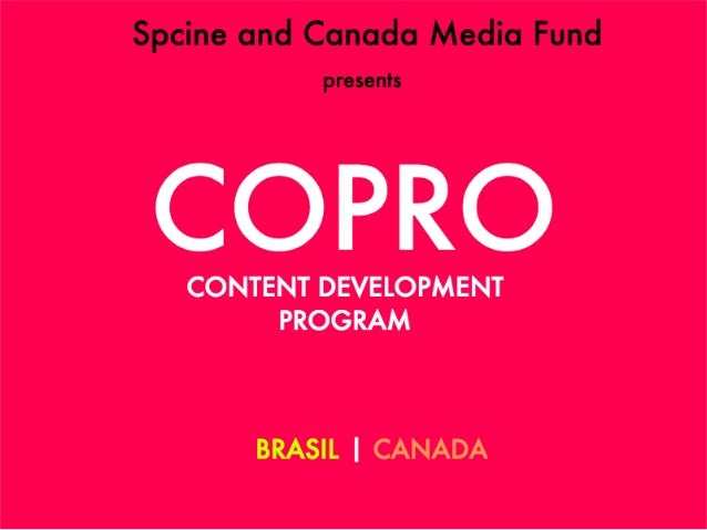 Nice! But... What is it? CoPro is a binational initiative focusing on content development of companies from the State of S...