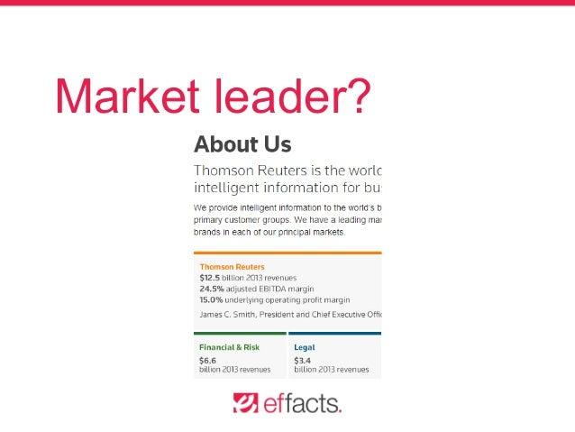 Market leader?