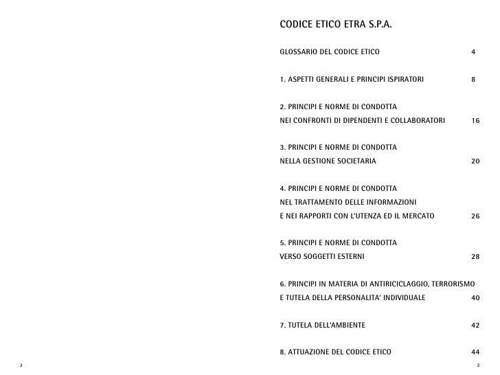 codice etico etra s.p.a.      GLossario deL codice etico                         4       1. aspetti GeNeraLi e priNcipi is...