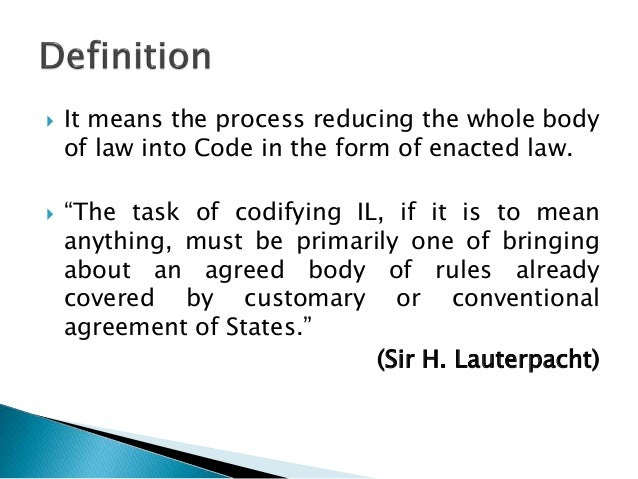 definition of international law pdf