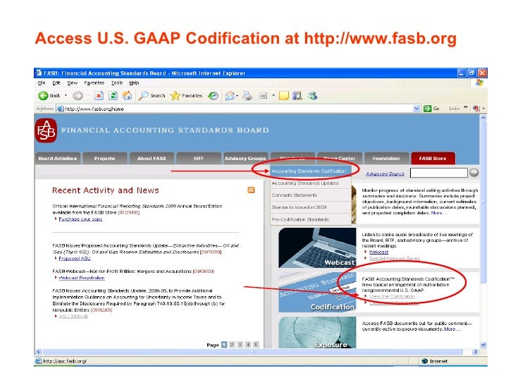 U.S. GAAP Codification demystified