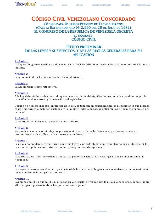 Gaceta Oficial Leyes Laboral Códigos Concordados Red Social Consulta Legal1InformaticaForense.com Grafotecnica.com Experti...