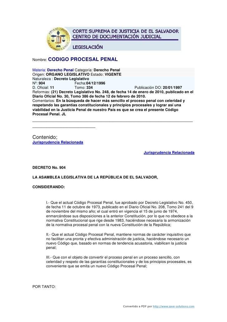 Codigo procesal-penal