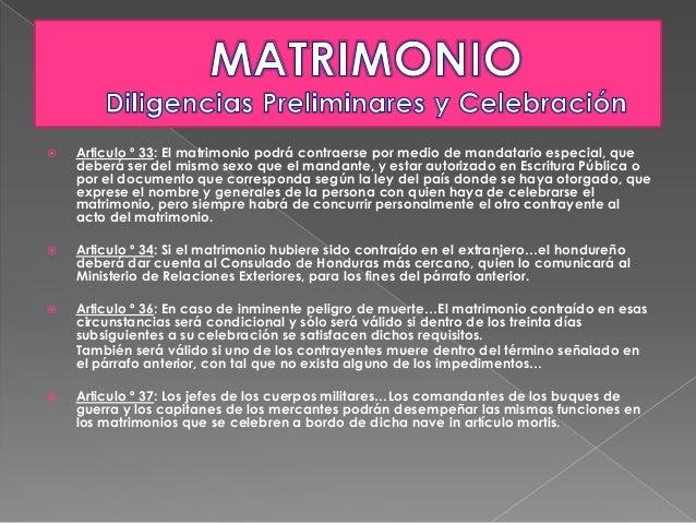 Matrimonio In Articulo Mortis : Código de familia honduras matrimonio