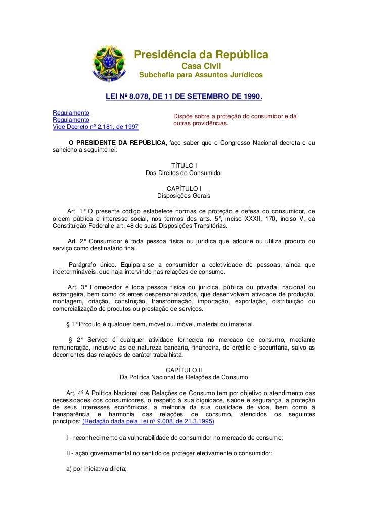 Presidência da República                                              Casa Civil                                 Subchefia...