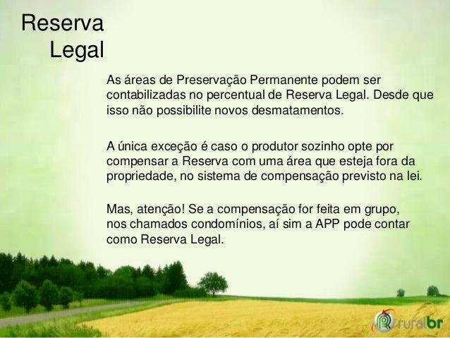 Código Florestal - Reserva Legal