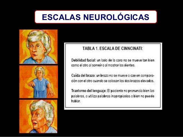 ESCALAS NEUROLÓGICAS