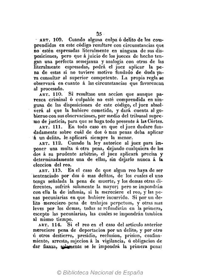 42 el delito, o en la conjuración ó maquinación para come> terlo, que después de cometido, ó de tener noticia las autorida...