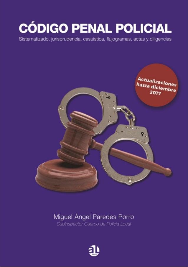 Código penal policial 2017