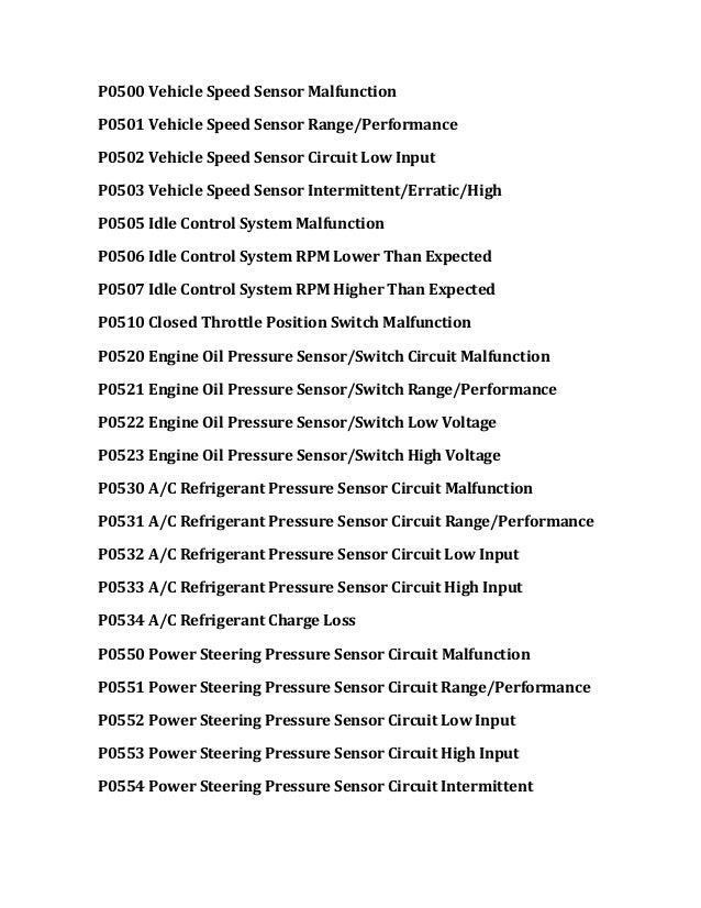 P0507 Nissan Pathfinder