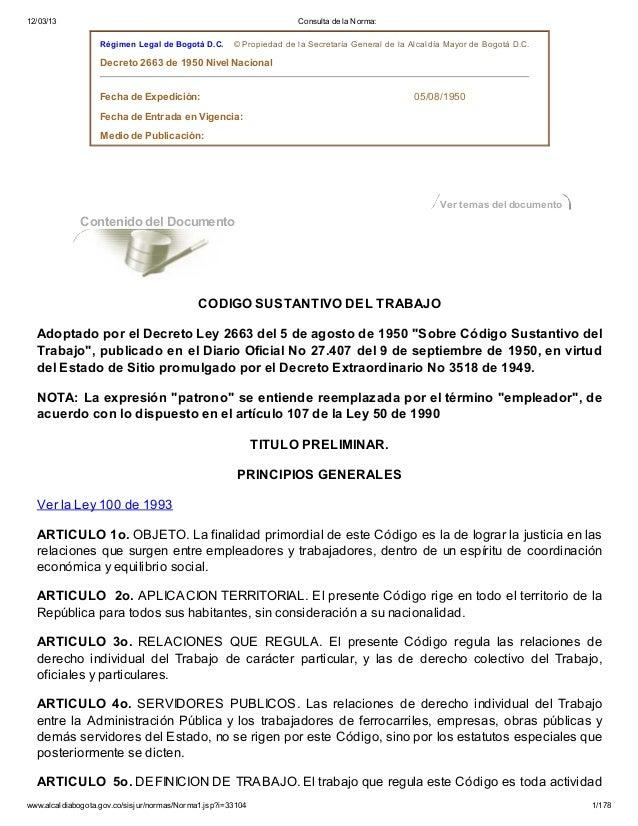 12/03/13                                                             Consulta de la Norma:                   Régimen Legal...