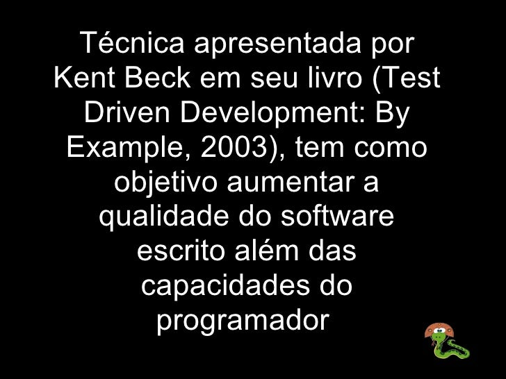 test driven development kent beck pdf download
