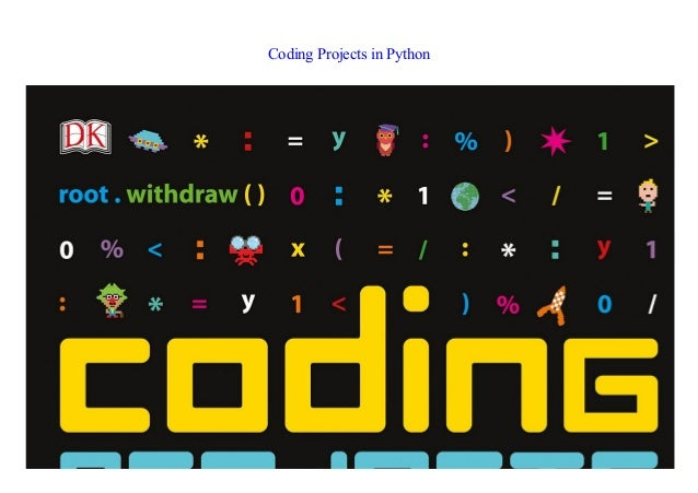 Coding Projects in Python EBOOK