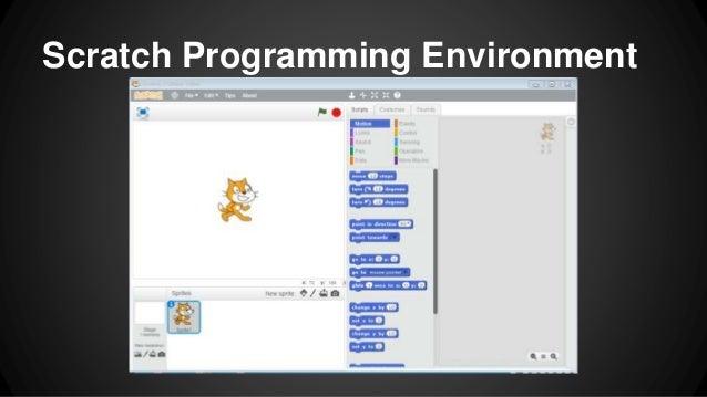 Scratch Programming Environment