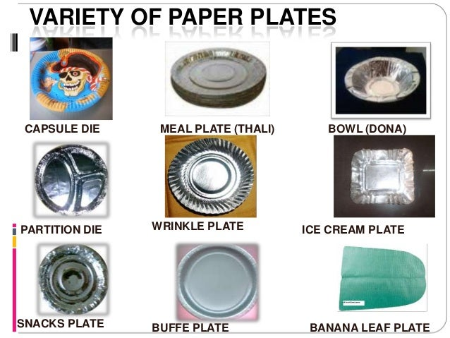 3. VARIETY OF PAPER PLATES ...  sc 1 st  SlideShare & Codoca mtvcola paper plate and douna making machines