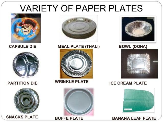 3. VARIETY OF PAPER PLATESCAPSULE ...  sc 1 st  SlideShare & Codoca mtvcola fully automatic paper douna and paper plate manufactur\u2026