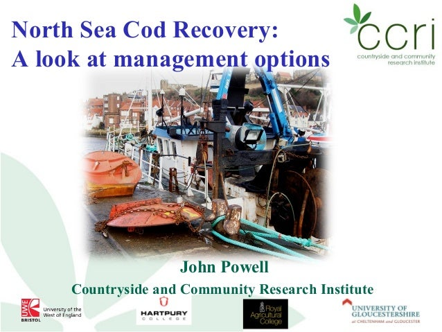 North Sea Cod Recovery: A look at management options  John Powell Countryside and Community Research Institute