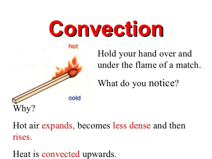 Coduction convection radiation