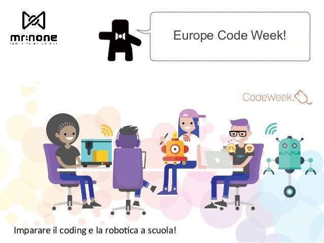 Cody Design - Come disegna un Robot? Slide 2
