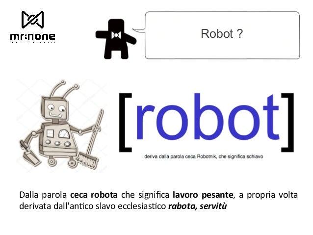 Cody Design - Come disegna un Robot? Slide 3