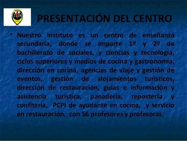 Actividades coeducaci n ies almeraya curso 2013 2014 - Examenes ayudante de cocina ...