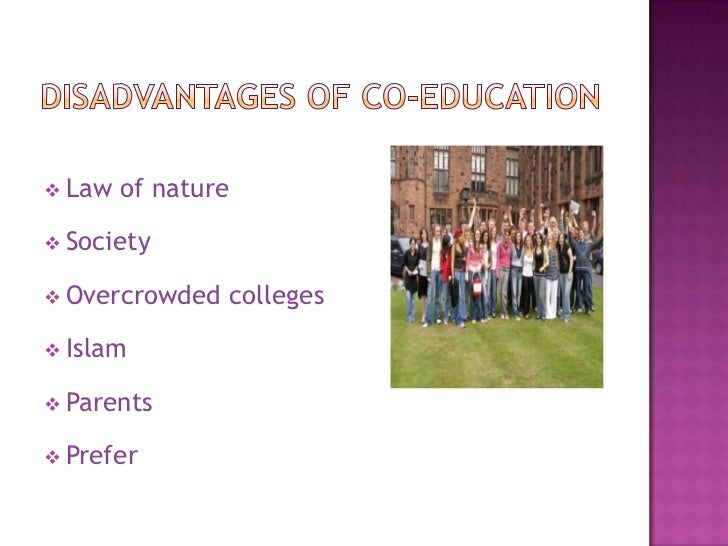 coeducation  co education eliminates gender based discrimination