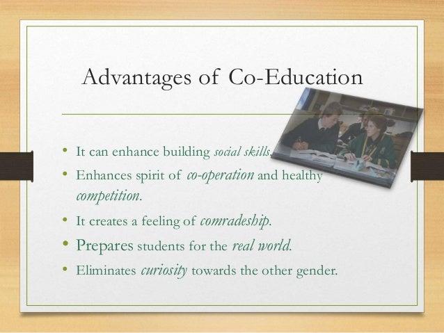 drawbacks of co education