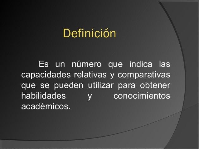 Coeficiente intelectual.presentacion.18 Slide 2