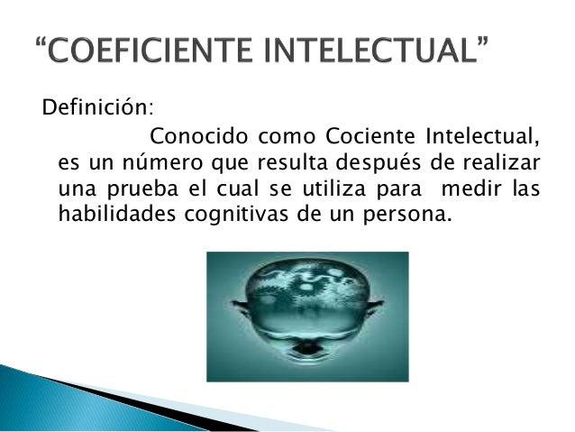 Coeficiente intelectual norma Slide 3