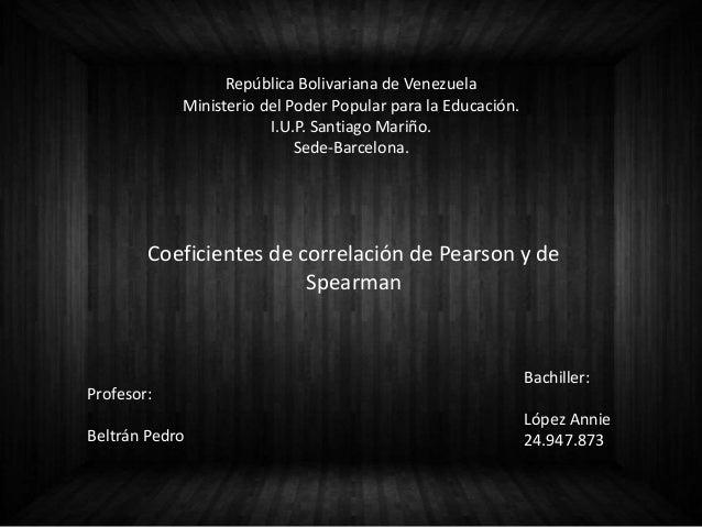 República Bolivariana de Venezuela Ministerio del Poder Popular para la Educación. I.U.P. Santiago Mariño. Sede-Barcelona....