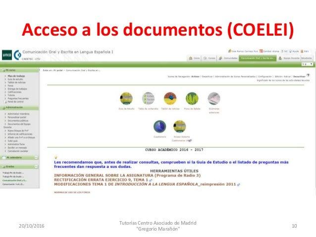COELEIyCOEEI 20 10 2016 Gregorio Marañón JR Carriazo