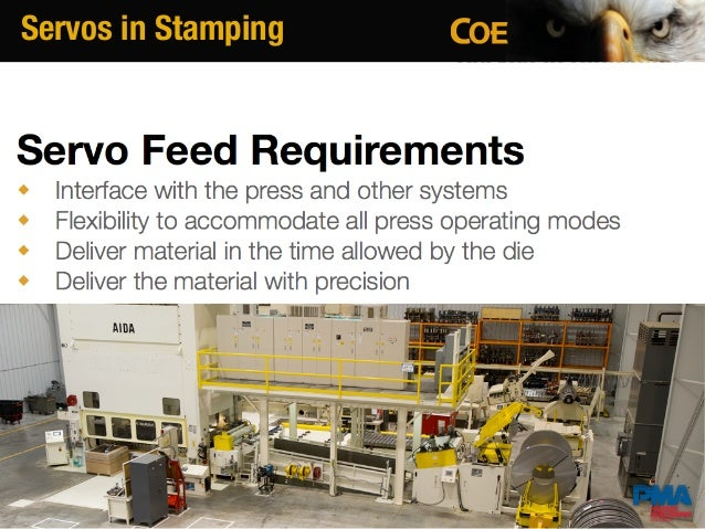 COE Press Equipment Servo Feeds Basics