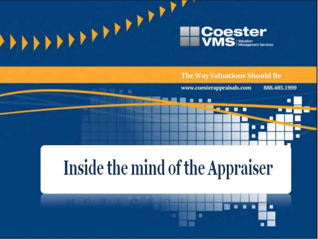 What we will cover•What Appraisers Look for in a Home•How Lender's Guidelines Effect Appraisals•What They are required to ...