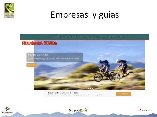Qué ocurre en Granada Preguntando: • A los cicloturistas que nos encontramos … • A los empresarios … • A los clubes … • A ...