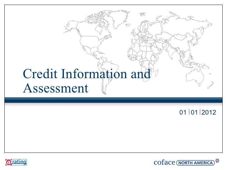 Credit Information andAssessment                         01 01 2012