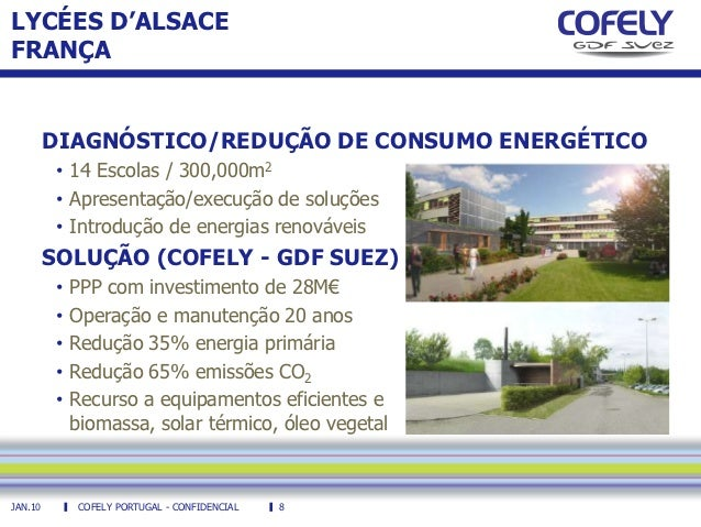 Cofely Portugal Microgeneration And Energy Efficiency