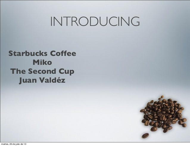 industry analysis of the coffee industry Within the coffee products categories, coffee pods continue to be the  as this  category continues to mature within the us market,.