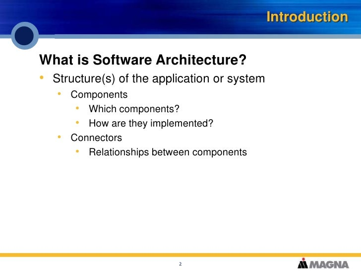 Application Architecture Fundamentals