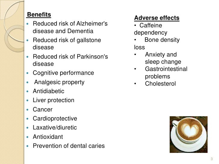 effects uses and benefits of coffee This article contains detailed information about the medical benefits of coffee enemas and additional information about how to do coffee enemas there is an extensive section about how coffee enemas can be used to treat many different health conditions, such as bowel disease, etc.