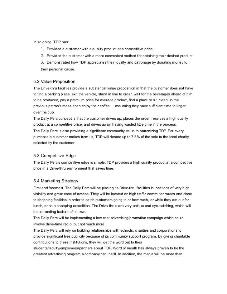 Business plan for charities