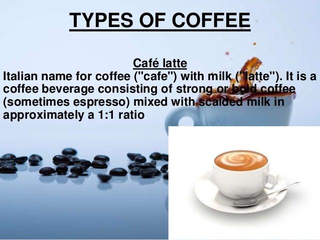 English In Italian: Coffee Ppt