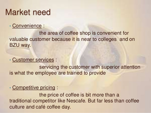 customer satisfaction strategy in coffee shop In particular, the paper investigates the marketing strategies coffee shops should adopt for weathering difficult economic trading periods and considers how customer satisfaction can be sustained now and in the future.