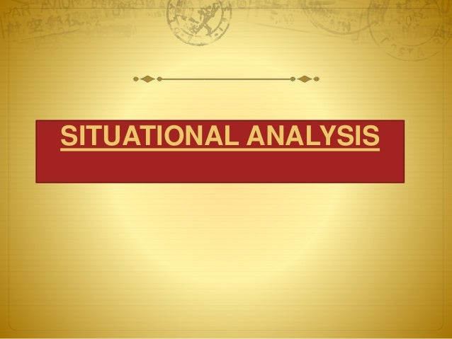 situation analysis of coffee shop Coffee has played a pivotal role in society by providing meeting places for intellectuals from all sides of life to converge starbucks a strategic analysis.