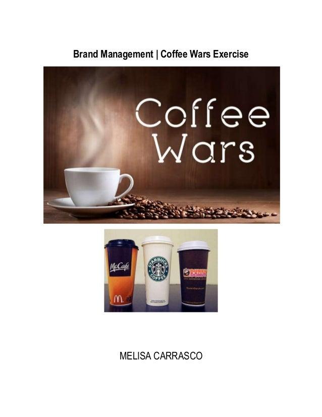 Brand Management | Coffee Wars ExerciseMELISA CARRASCO