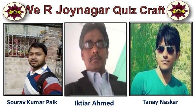 Sourav Kumar Paik Iktiar Ahmed Tanay Naskar