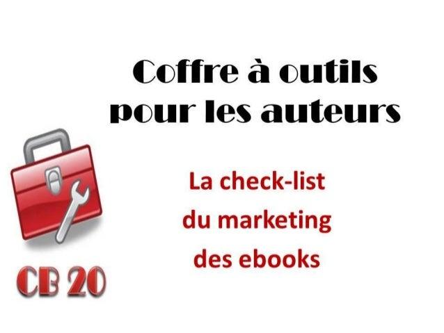 """Dans la série des """"Coffre à outils pour les auteurs"""", nous avons exploré une foule de stratégies  de marketing pour faire ..."""